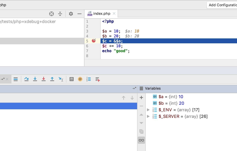 Docker + PHP + Xdebug + PHPStorm = Good Developer Experience